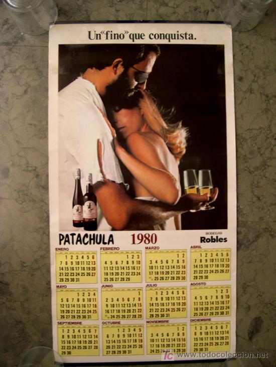 Coleccionismo Calendarios: ALMANAQUE DE BODEGAS ROBLES, FINO PATACHULA. 1980 - Foto 1 - 21163312