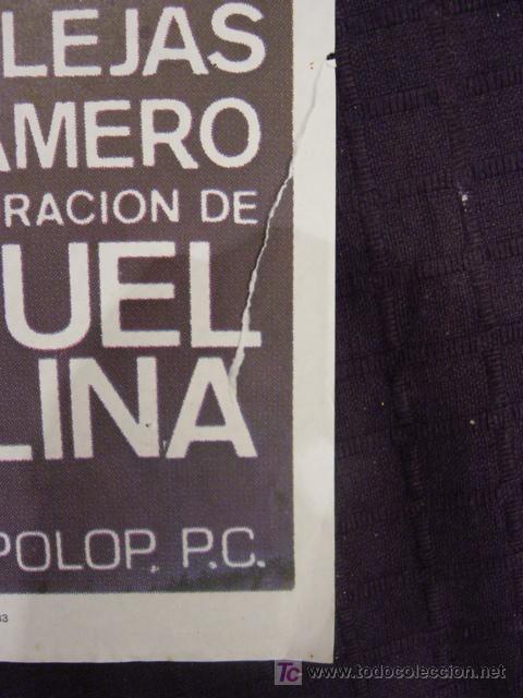 Cine: CARTEL ORIGINAL DE LA PELICULA LA MUJER DEL JUEZ - Foto 2 - 12955691