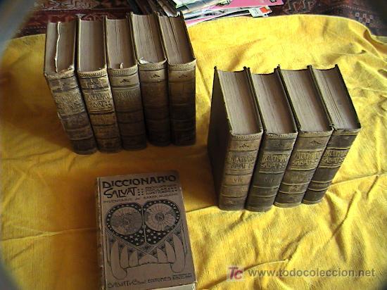 Diccionarios antiguos: DICCIONARIO SALVAT ENCICLOPEDICO POPULAR ILUSTRADO.INVENTARIO DEL SABER HUMANO.1ªenciclopedia Salvat - Foto 1 - 3412983