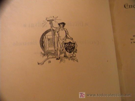 Diccionarios antiguos: DICCIONARIO SALVAT ENCICLOPEDICO POPULAR ILUSTRADO.INVENTARIO DEL SABER HUMANO.1ªenciclopedia Salvat - Foto 12 - 3412983