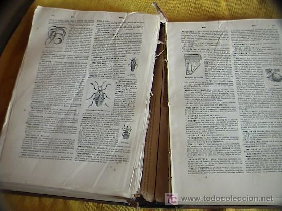 Diccionarios antiguos: Tomo que necesita restauracion - Foto 17 - 3412983