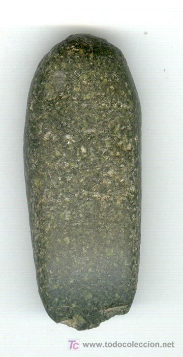 Antigüedades: HACHA DE PIEDRA 2000 ANTES DE CRISTO MUY BONITA SUR DE MARRUECOS - Foto 1 - 23477841