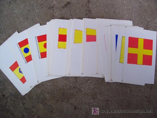 Barajas de cartas: baraja de señales, direccion de enseñanza naval, ministerio de marina, 1972 - Foto 3 - 23263886