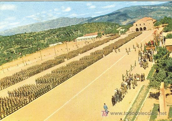 IPS. CAMPAMENTO LOS CASTILLEJOS. TARRAGONA. (Postales - Postales Temáticas - Militares)