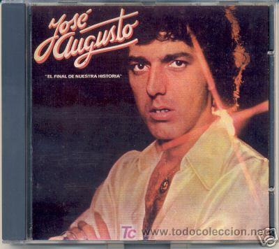 JOSE AUGUSTO CD EL FINAL DE NUESTRA HISTORIA EN ESPAÑOL ROBERTO CARLOS (Música - Discos - LP Vinilo - Grupos y Solistas de latinoamérica)